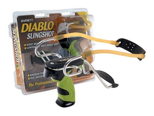 The Barnett Diablo Slingshot Avec Amovible Bracelet-chasse Bushcraft