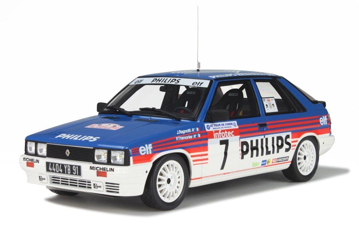 Renault 11 turbo Gr. a-ragnotti-tour de Corse Corse Corse 1986 - 1 18 ottomobile OT 194 777947