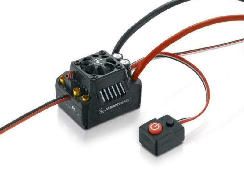 Hobbywing MAX10 SCT 120A ESC Speed Controller 4WD SCT corto periodo camiones 1 10