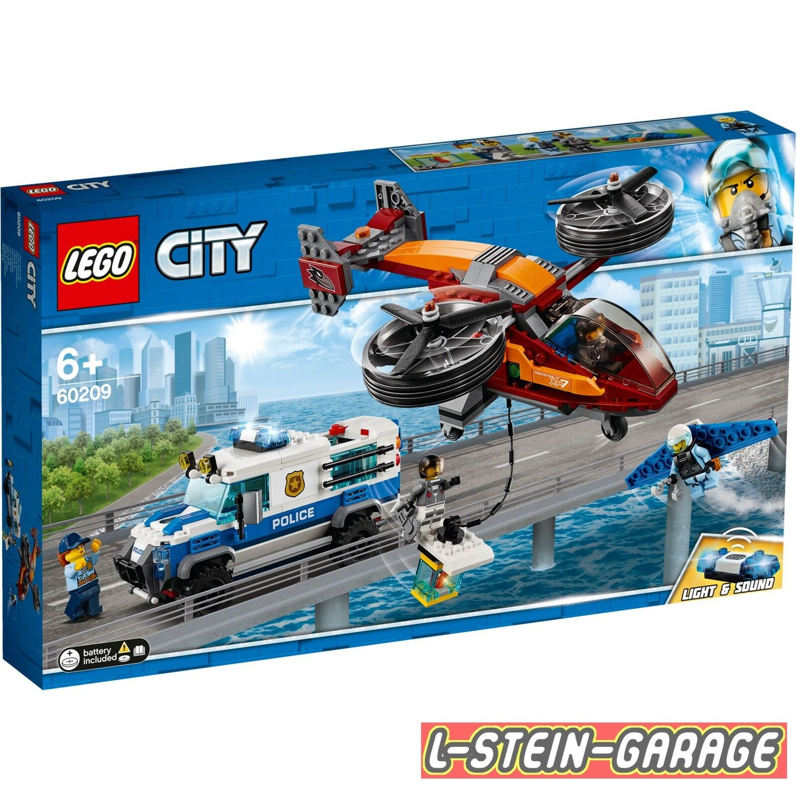LEGO® City 60209 Polizei Diamantenraub NEU & OVP
