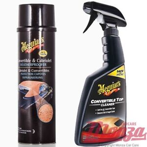Image Is Loading New Meguiars Convertible Fabric Soft Top Car Hood