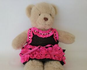 Teddy-Bear-Clothes-Handmade-Pixie-Ruffled-Skirt-and-Sequinned-Halter-Top