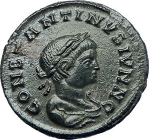 CONSTANTINE-II-Constantine-the-Great-son-321AD-Ancient-Roman-Coin-Altar-i73454