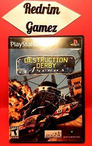 Destruction Derby Arenas PS2 Video Games