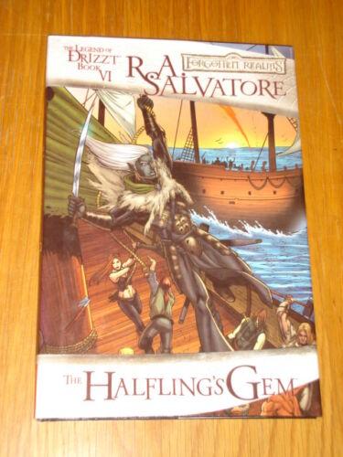 LEGEND OF DRIZZT BOOK 6 HALFLING/'S GEM FORGOTTEN REALMS  HB/< 9781934692165