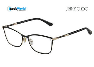 43ac165b73 Image is loading JIMMY-CHOO-JC134-Designer-Spectacle-Frames-with-Case-