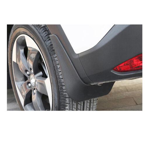 4x Plastic Mudguard Splash Guards Mud Flaps For Lexus GS 250 350 450h 2013-2019
