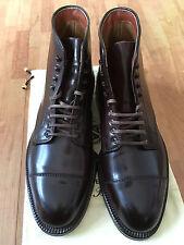 Alden 4060Y Shell Cordovan Cap Toe Boots - Bordo (Color 8) - Size 7E / Grösse 41
