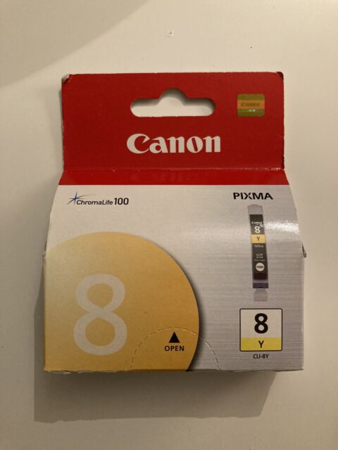 Canon Ink Tank PIXMA 8 Yellow Japan NEW
