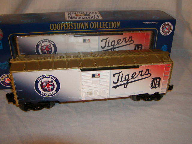 Lionel 6-82687 Detroit Tigers Box Car O 027 2015 Cooperstown Collection Nuovo