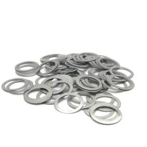 M2 M2.5 M2.6 M3 M4 M5 M6 Zinc-Plated Steel Flat Washer Gasket Shim Ring Sealings
