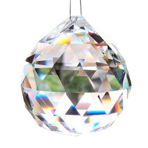 prisma kugel glas kristall deko 20mm f r pendelleuchte. Black Bedroom Furniture Sets. Home Design Ideas