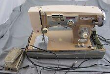 Underwood Zig Zag Sewing Machine Rare Made In Japan Used Rare Vintage Works