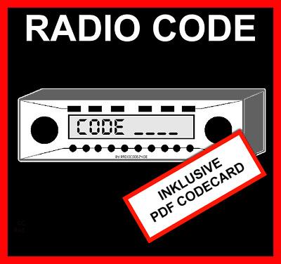 radio code passend f r blaupunkt bmw bavaria c business. Black Bedroom Furniture Sets. Home Design Ideas