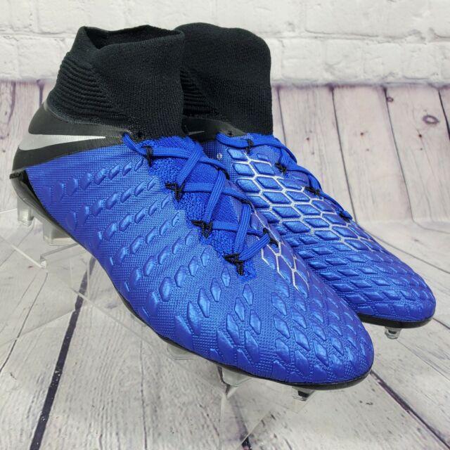 Nike Men's Size 7 Hypervenom Phantom 3 Elite Df FG Soccer Cleats AJ3803-401