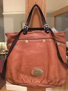Image is loading Authentic-Mulberry-Mitzy-Messenger-Tote-Pebbled-Oak-Bag 600e6cae3e
