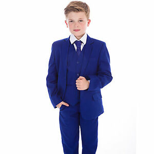 Boys-Blue-Suits-Boys-Suits-Page-Boy-Prom-Wedding-Party-Outfit-5-Piece