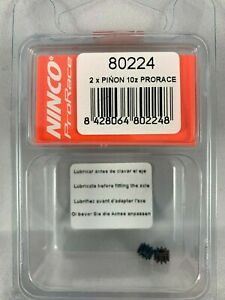 2 PER PACK    1:32 SCALE 80225 NINCO PRORACE PINION 11 TOOTH
