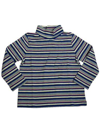 Toddler Girls NWT Long Sleeve Striped Turtleneck Top Shirt