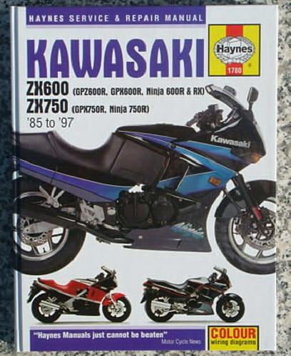Details about 1985-1997 Kawasaki Ninja ZX6 ZX600 600 600R ZX ZX7 750 on yamaha fz1 wiring diagram, honda rc51 wiring diagram, honda cbr600rr wiring diagram, zx7r wiring diagram, kawasaki zx7 specifications, honda st1100 wiring diagram, honda cbr900 wiring diagram,