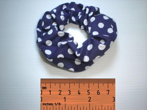 Colour Choice Hair Scrunchie Band Loop Tie Satin /& Fabric Gorgeous Coloured