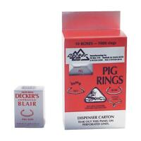 Decker 100pc 4 Blair Pig Ring