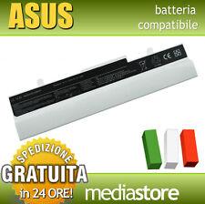 BATTERIA BIANCA 10.8-11.1V per ASUS eeePC 1001PX-WHI127S, 1001PXD, 1001PXD-B06S