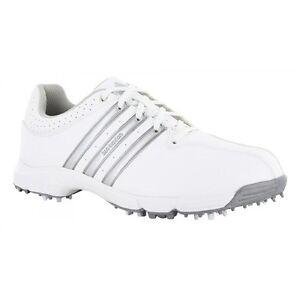 d86a9cc8173 Adidas Men s 360 Traxion Golf Shoes F33400 Sizs 11.5 M White Silver ...