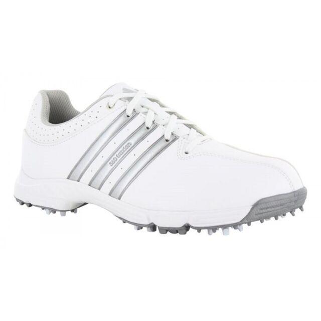sale retailer 36209 5968b Adidas Mens 360 Traxion Golf Shoes F33400 Sizs 11.5 M WhiteSilver Metallic