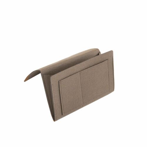 Sofa Storage Bag Felt Organizer Pocket Bedside Home Hanging Book Holder Caddy