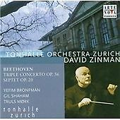 Beethoven:Triple Concerto Op. 56; Septet Op. 20 CD SEALED ZINMAN BRONFMAN SHAHAM