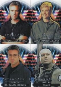 Stargate-SG-1-Season-Seven-SG-1-Team-Chase-Card-Set