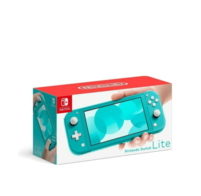 NEW Nintendo Switch Lite Handheld Console - Turquoise