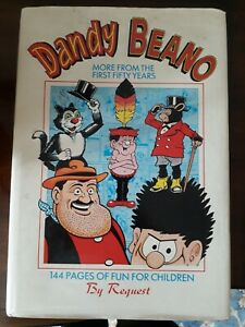 dandy-and-beano-more-from-the-first-fifty-years-hardback-comic-book