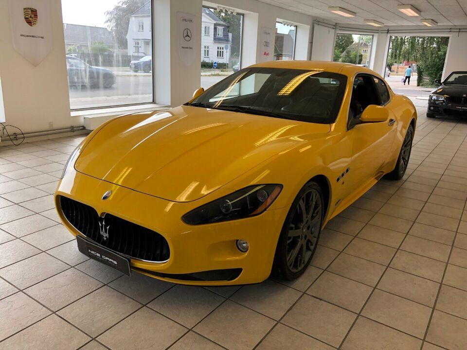 Maserati GranTurismo 4,7 S Benzin aut. Automatgear