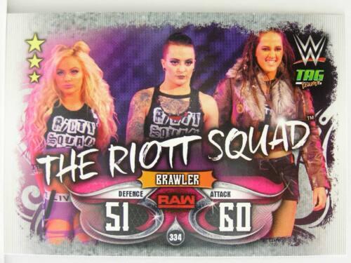 Slam Attax #334 the riott Squad-Live 2018
