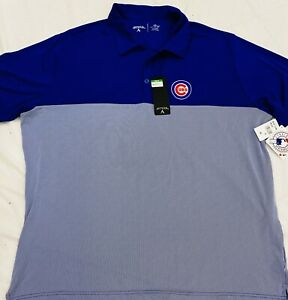 Chicago-Cubs-Mens-Antigua-Golf-Polo-Size-2XL-NWT-MLB-Authentic-Venture-Sale-65