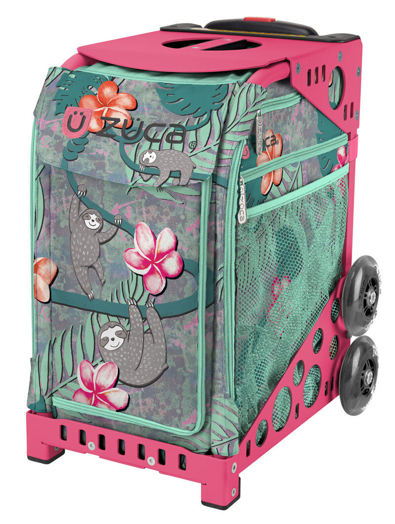 ZUCA Bag PEEK-A-BOO FRIENDS Insert & Pink Frame FREE SEAT CUSHION