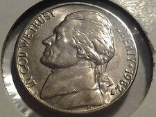 1982 D Jefferson BU Nickel Five 5 Cents Tough in this condition! LUSTER!