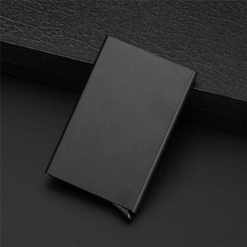 Tarjetero Elegante de Metal 5 Colores Gran Calidad y Diseño Credit Card