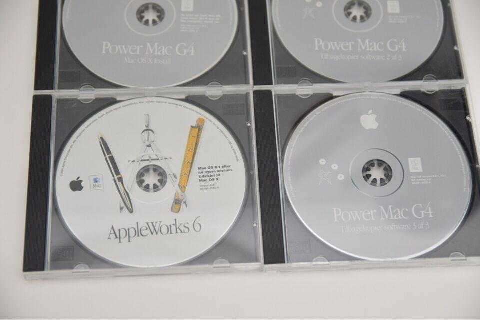 Tilbehør til Mac, Gammel Os CD og MacOs Software, Perfekt