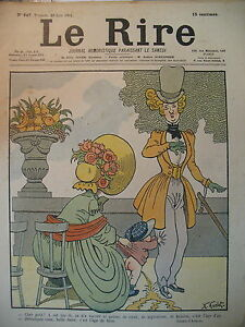 JOURNAL-LE-RIRE-N-347-DESSINS-DE-AVELOT-GUYDO-GRANDJOUAN-SANCHA-1901