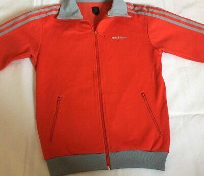 Adidas Retro Jacke Orange Gr.s 2004