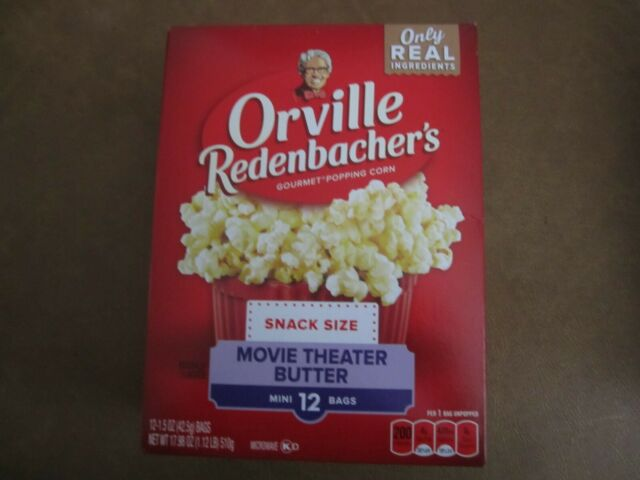 Orville Redenbacher Microwave Popcorn Mini Bags Movie Theater Butter 42 5 G For Sale Online Ebay