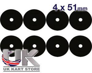 nylon-Rondelle-siege-4mm-x-51mm-Pack-de-8-Tillett-tonykart-UK-KART-Store