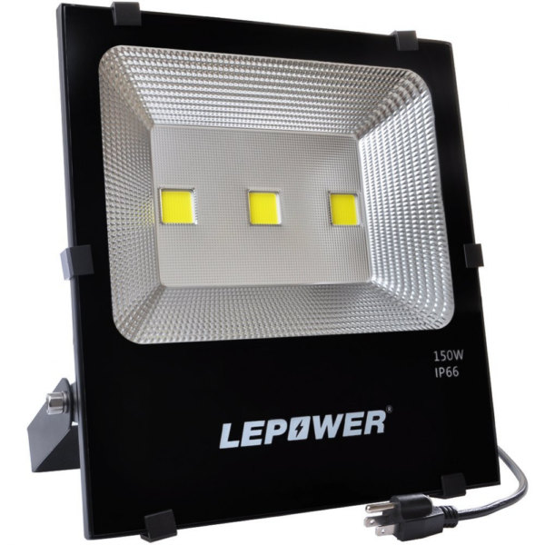 Led Flood Light Outdoor 150w: LEPOWER 150w Craft LED Flood Lights Super Bright Outdoor