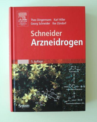1 von 1 - Schneider - Arzneidrogen von Ilse Zündorf, Theo Dingermann, Georg Schneider und