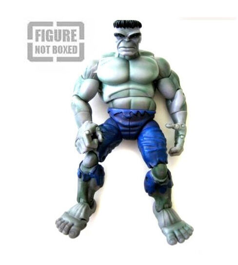 MARVEL LEGENDS 1a apparizione grigio HULK 7  Action Action Action Figure Rare, Avengers fa55d4