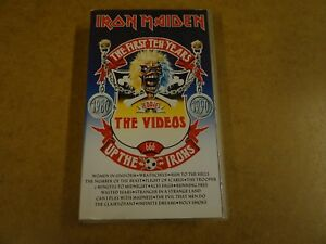 VHS-VIDEO-CASSETTE-IRON-MAIDEN-THE-FIRST-TEN-YEARS-THE-VIDEOS