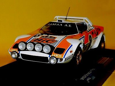 Lancia Stratos HF BIC SIROCO//makrinos #8 ACROPOLE 1978 SUN STAR 4513 1:18